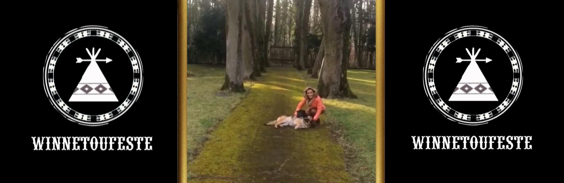 Schirmherrin Hella Brice zum Winnetoufest 2017